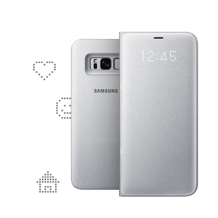 the sale of shoes 100% top quality 100% high quality Samsung ETUI LED VIEW COVER ARGENT POUR GALAXY S8 PLUS sur  https://www.ascendeo.fr