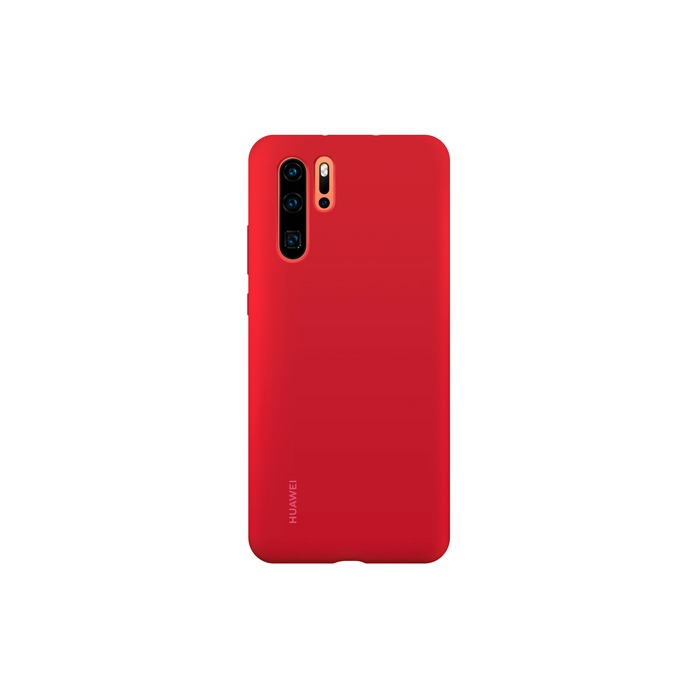 coque rouge huawei p30