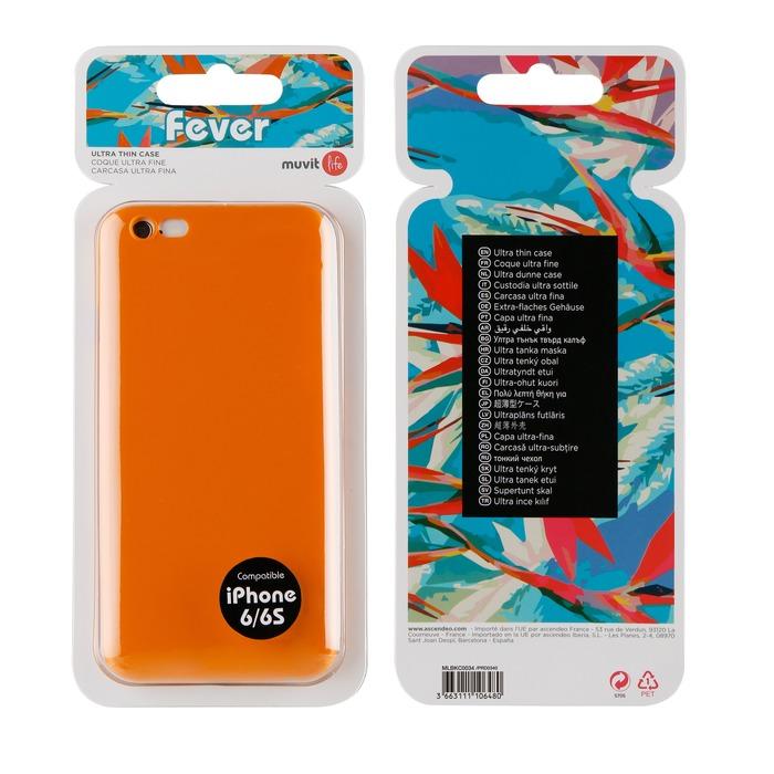 coque orange fluo iphone xr