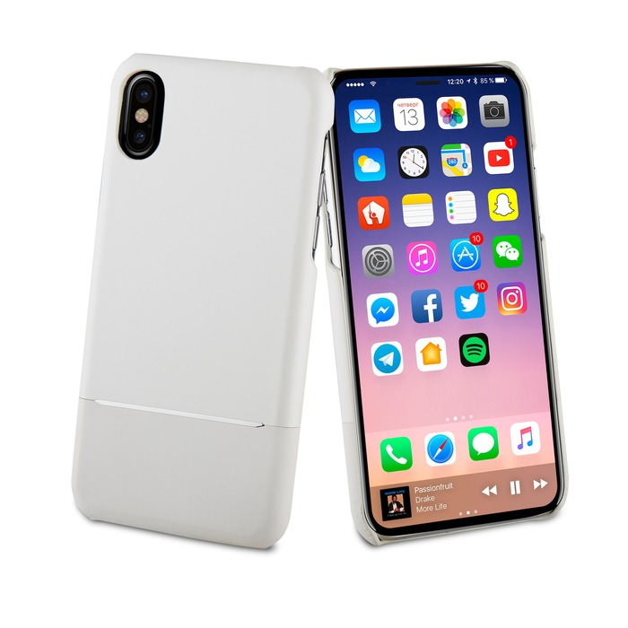 coque iphone x blanche apple