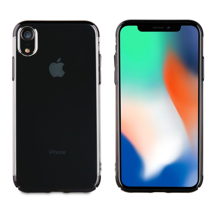 coque apple iphone xr noire