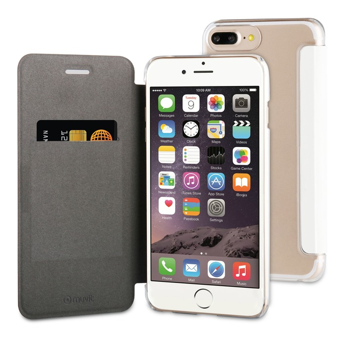 best service 2e0d8 d7cd2 Muvit FOLIO CASE BLANC: APPLE IPHONE 6+/6S+/7+/8+ sur  https://www.ascendeo.fr