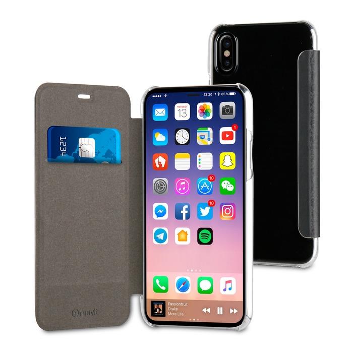 pick up 48c34 c98bd Muvit FOLIO CASE NOIR APPLE IPHONE X XS sur https://www.ascendeo.fr