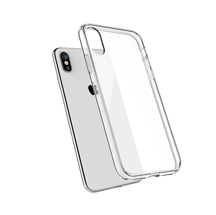 Image 1 COQUE HYBRID CLEAR TRAITEMENT ANTI RAYURES APPLE IPHONE Xs Max  5060134697779 QDBKC0054 big
