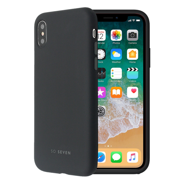 coque apple iphone x noir