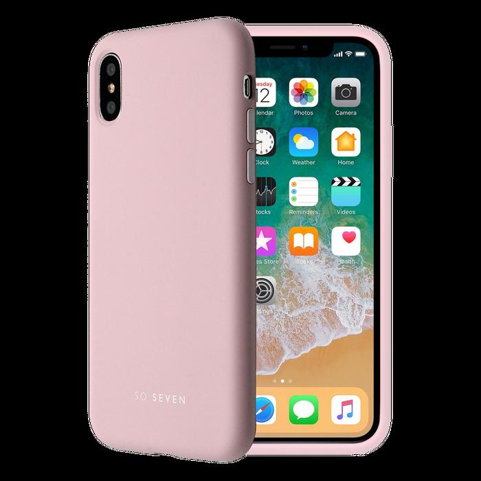 coque iphone x apple rose