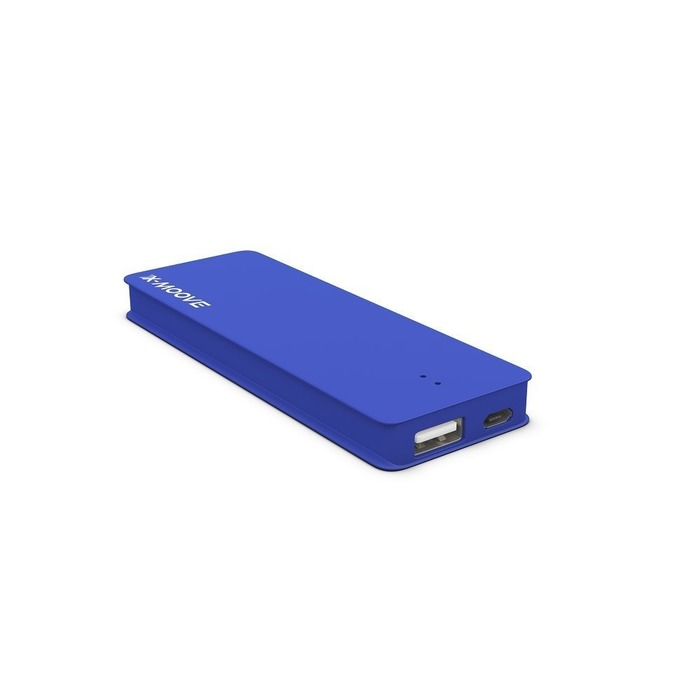powergo nano 2800mah blue ascendeo grossiste batteries externes. Black Bedroom Furniture Sets. Home Design Ideas