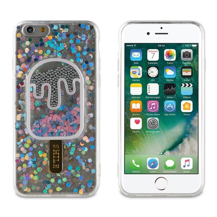 muvit life coque ice cream transparente silver iphone 678 51450