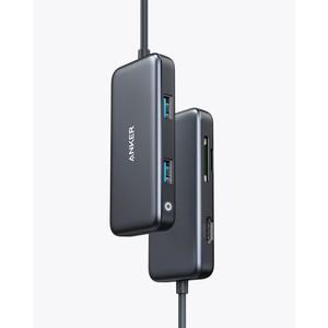 HUB USB-C PREMIUM 5-EN-1 HDMI MICSD 2USB3.0