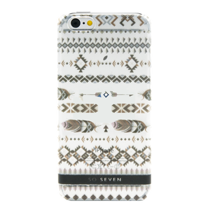 COQUE BOHO PLUMES: APPLE IPHONE 6/6S/7/8