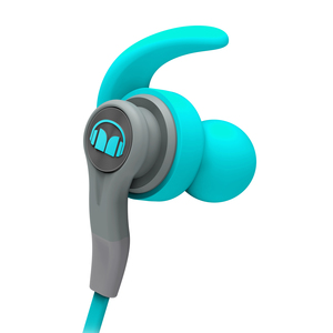 ISPORT COMPETE ECOUTEURS INTRA FILAIRE BLEU