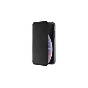 ETUI FOLIO MILANO EN CUIR NOIR: APPLE IPHONE X/XS