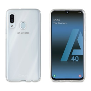 PP COQUE CRYSTAL SOFT TRANSPARENTE SAMSUNG GALAXY A40