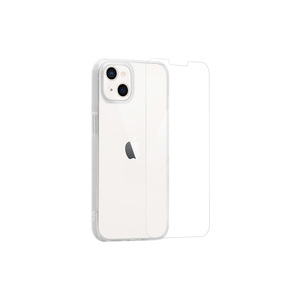 MYWAY STARTER PACK COQUE SOUPLE + VERRE TREMPE IPHONE 13 MINI