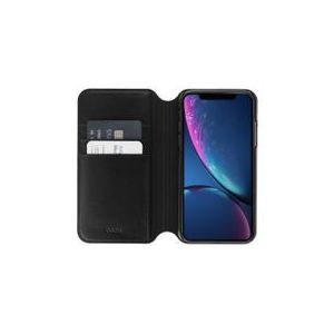 ETUI FOLIO MILANO EN CUIR NOIR: APPLE IPHONE XR