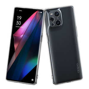 MUVIT FOR CHANGE COQUE SOUPLE CLEAR DESIGNED FOR OPPO FIND X3 PRO