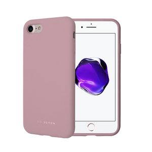 COQUE SMOOTHIE ROSE POUDRE: APPLE IPHONE 7/8/SE