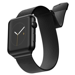 HYBRID MESH BAND FOR APPLE WATCH 42/44MM BLACK