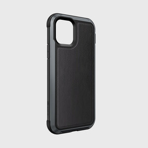 Defense Lux for iPhone 11 PRO - Black Leather