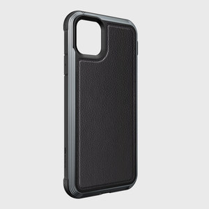 DEFENSE Lux for iPhone 11 PRO MAX - Black Leather