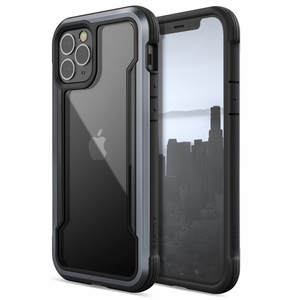 COQUE DEFENSE SHIELD NOIRE POUR IPHONE 12/12 PRO