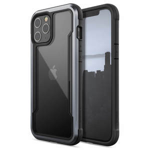 COQUE DEFENSE SHIELD NOIR POUR IPHONE 12 PRO MAX
