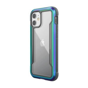 RAPTIC COQUE  SHIELD IRRIDESCENT POUR IPHONE 12 MINI