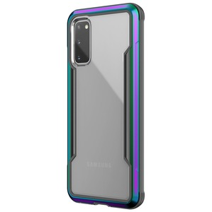 COQUE DEFENSE SHIELD IRIDESCENT: SAMSUNG S20