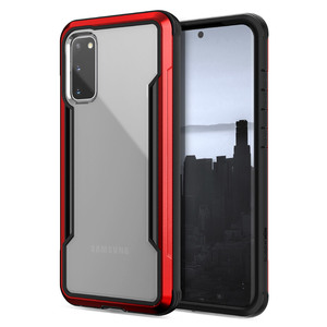COQUE DEFENSE SHIELD ROUGE: SAMSUNG S20