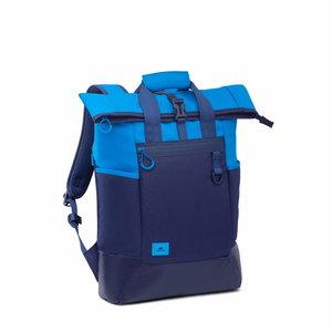RIVA DIJON Sac à dos bleu 25L pour ordinateur 15.6