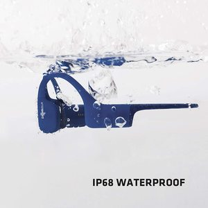 XTRAINERZ SAPHIRE BLUE CASQUE MP3 WATERPROOF