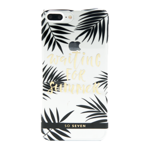 COQUE CANNES WAITING TRANSPARENT: APPLE IPHONE 6+/6S+/7+/8+
