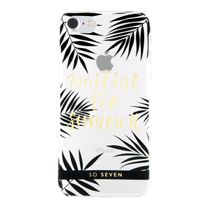 COQUE CANNES WAITING TRANSPARENT: APPLE IPHONE 6/6S/7/8