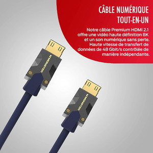 CABLE HDMI M3000 UHD 8K DOLBY VISION HDR 48GBPS 3M