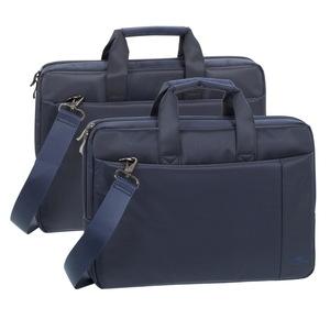 CENTRAL Sacoche bleue 2 poches de rangement - 15.6