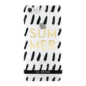 COQUE CANNES SUMMER TRANSPARENT: APPLE IPHONE 6/6S/7/8