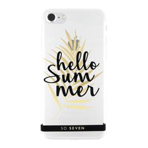 COQUE CANNES HELLO TRANSPARENT: APPLE IPHONE 6/6S/7/8