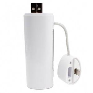 POWERBANK 2600 MAH AVEC CABLES USB MICRO ET LIGHTNING MFI