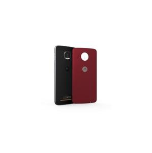 MODS cache-batterie style tissu red ballistic pr Moto Z/Z2/Z3 Play V2