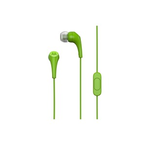 CASQUE INTRA AURICULAIRE EARBUDS 2 MOTOROLA GREEN