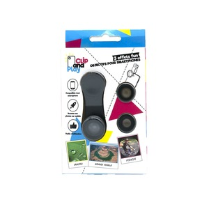 CLIP AND PLAY PACK 3 LENTILLES