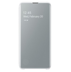 CLEAR VIEW COVER BLANC SAMSUNG S10e
