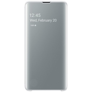 CLEAR VIEW COVER BLANC SAMSUNG S10