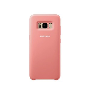COQUE SILICONE ROSE POUR GALAXY S8