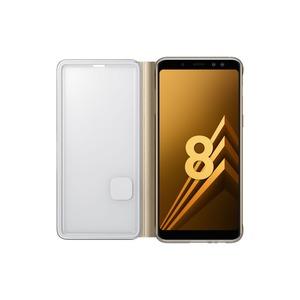 ETUI FLIP NEON GOLD SAMSUNG GALAXY A8 2018