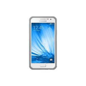 ETUI PROTECTIVE COVER ARGENT BLANC SAMSUNG GALAXY A3