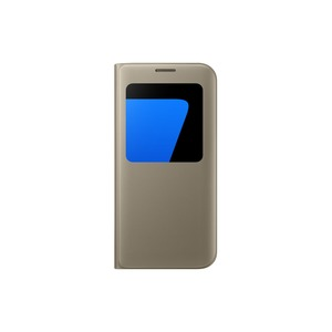 ETUI S VIEW COVER OR POUR SAMSUNG GALAXY S7 EDGE