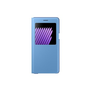 S VIEW COVER STAND BLEU POUR SAMSUNG GALAXY NOTE 7