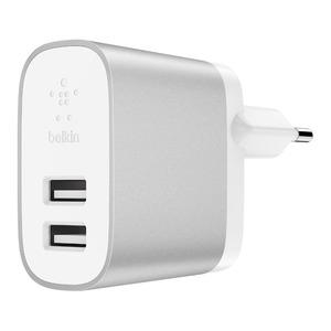 PLUG CHARGEUR BOOST 24W 2 USB BLANC