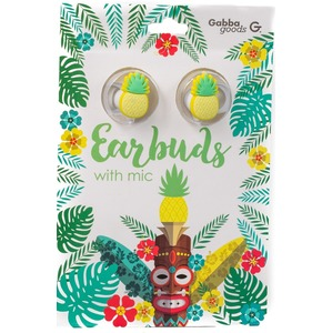 GABBA GOODS CASQUE INTRA AURICULAIRE PINAPPLE